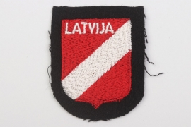 Waffen-SS Latvian volunteer's sleeve badge