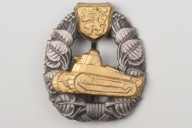 Czechoslovakia (First Republic) - Tank Assault Badge