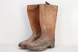 Depot Grafenreuth - Waffen-SS field boots - unissued