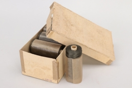 Wehrmacht 10 original thread rolls in box