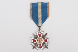 Obstlt. Richter - Romanian Order of the Crown, Knight's Cross with Swords