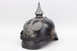 Prussia - M1915 WWI infantry spike helmet EM