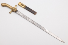 "Kaiserliche Marine applicants bayonet ""II.W.D.92 - 1890""- WKC"