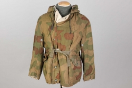 Wehrmacht tan & water reversible camo winter parka - Rb-numbered