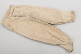 Luftwaffe tropical trousers with front pocket