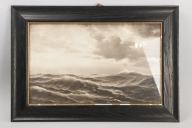 Hanken, Willi -  1907 drawing - framed