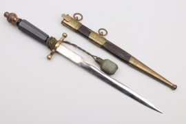 Royal Danish Army - artillery and engineers corps officer's dagger