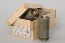 Wehrmacht 10 original thread rolls in box - Gütermann