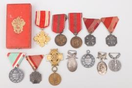 Lot of international badges