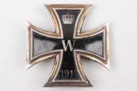 """Hauptmann Ordemann - 1914 Iron Cross 1st Class """"925"""" - enameled!"""