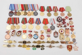 Soviet Union & East Germany - lot of medals