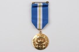 Finland - Golden Merit Medal of the city of Helsinki - 750 gold