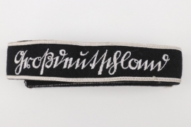 """""""Großdeutschland"""" EM/NCO cuff title - Sütterlin script"""