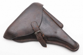WWI P08 leather holster