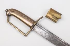 Saxony - infantry sabre M 1817
