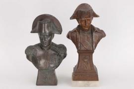 Napoleon Bonaparte two busts