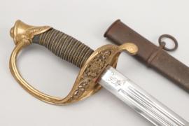 Saxony - infantry officer's sword M 1867 - Eisenhauer
