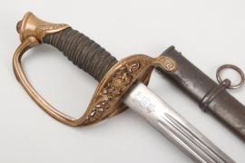 Saxony - infantry officer's sword M 1867 - GR