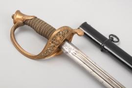 Saxony - infantry sword for officers  M 1867 - AR - Kammerstück