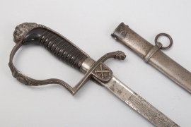 Saxony - artillery saber for officers - WW1 pattern