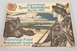 "1907 impressive ""Internationale Sport-Ausstellung Berlin"" poster"