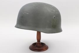 Luftwaffe M38 Fallschirmjäger helmet - restored