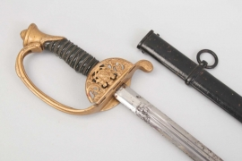 Saxony - infantry  sword for officers M 1867 - WW1 pattern