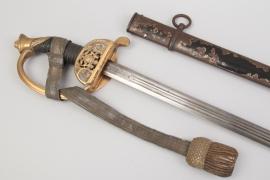 Saxony - infantry sword for officers M 1867 - FAR