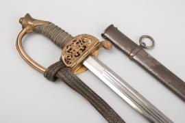 Saxony - infantry sword for officers  M 1867 - Eickhorn