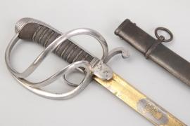 Saxony - artillery saber for officers M 1867 - AR