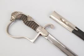 Saxony - present sword with lion head