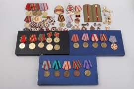 Soviet Union - lot of badges and insignia