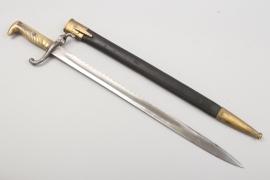 Saxony - infantry fascine knife 1879