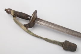Saxony - cavalry sword for officers um 1720