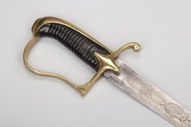 Saxony - cavalry officers sabre