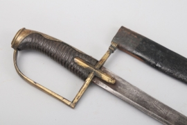 Saxony - cavalry  saber for officers - around 1780