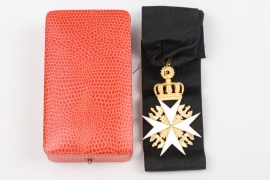 General von Kemphen - Order of Saint John, Cross of the Legal Knights in case