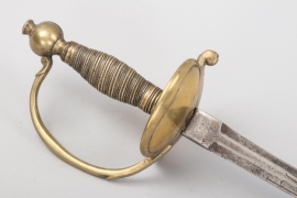Saxony - infantry  sword for officers - about 1780