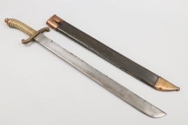Saxony - infantry fascine knife M 1845 - P.D.L