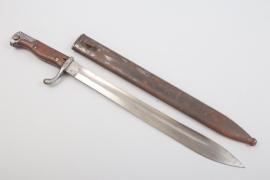 """Prussia - WWI bayonet 98/05 n.A. """"P.D. Lüneschloss - Solingen"""""""
