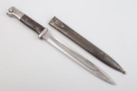 "Prussia - WWI bayonet 84/98 n.A. ""T.A.701.1.B.48."""