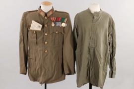 Horthy era artillery uniform grouping
