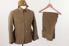 Japan - officer's field blouse, kepi and trousers