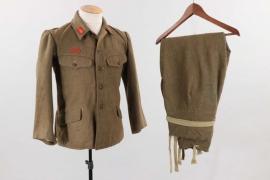 Japan - infantry EM's field blouse & trousers (winter pattern)
