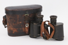"WWI ""Marineglas"" binocluars 6x in quiver - Carl Zeiss"