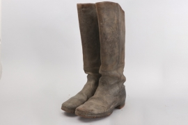 WWI cavalry boots - EM/NCO type