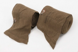 Wehrmacht tropical gaiters