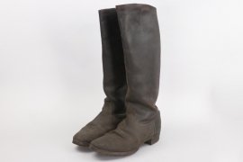 Wehrmacht NCO's riding field boots