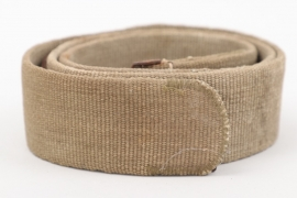 Wehrmacht tropical webbing belt - Rb-numbered
