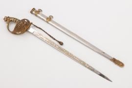 Fürst von Bismarck presentation sword miniature (letter opener)